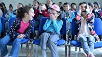 Köy çocukları tiyatroyla tanışııyor