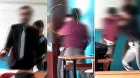 Sınıfta skandal görüntüler!