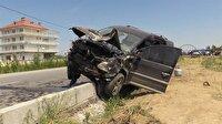 Ticari araç ile otomobil çarpıştı: 4 ölü, 2 yaralı