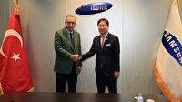 Cumhurbaşkanı Erdoğan Samsung firmasını ziyaret etti