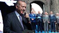 Cumhurbaşkanı Erdoğan ile Vali arasında gülümseten diyalog