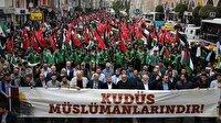 Türkiye'nin kalbi Kudüs'le attı