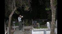 Mezarlıkta ağlayan kızla ilgili yeni açıklama