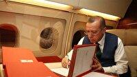 Erdoğan vekil listesini uçakta hazırladı