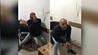 Karakolda kendini dövüp suçu jandarmaya atana adam