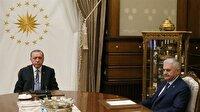 Cumhurbaşkanlığı Külliyesi'nde kritik görüşme