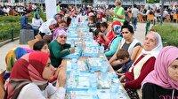 Mavi Marmara şehidi anısına 2 bin 500 kişiye iftar