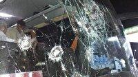 Afyonspor taraftarına taşlı sopalı saldırı