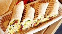 Sahurda yapabileceğiniz 10 farklı dürüm sandviç tarifi