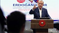 Cumhurbaşkanı Erdoğan GZT'nin canlı yayınında gençlerle buluştu