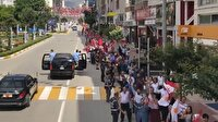 Vanlılar Erdoğan'ı caddelere dökülerek karşıladı