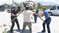 Şehit yakınları CHP çelengini parçaladı