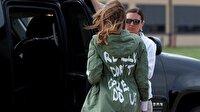'Umursamıyorum' ceketi ile göçmen kampına ziyaret