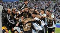 Arjantin ve Hırvatistan son 16 turunda
