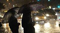 İstanbul için art arda yağış uyarısı: Dikkatli olun