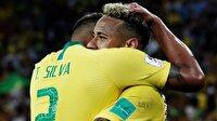 Brezilya ve İsviçre son 16'ya kaldı