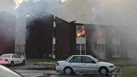 ABD'de Türklerin yaşadığı apartmanda yangın çıktı