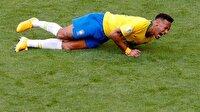 Neymar'ın Dünya Kupası'nda ne kadar yerde yattığı belli oldu