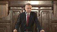Başkan Erdoğan: ''Milli iradenin üzerinde hiçbir fani güç tanımıyoruz''