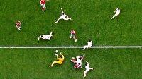 Dünya Kupası maçlarının en iyi fotoğrafları