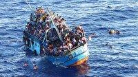 Libya'da 158 kaçak göçmen boğulmaktan kurtarıldı