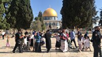 300 Fanatik Yahudiden Mescid-i Aksa'ya baskın