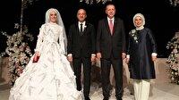 Cumhurbaşkanı Erdoğan ile TBMM Başkanı Yıldırım nikah şahidi oldu