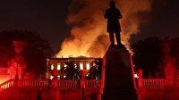 Brezilya'nın 200 yıllık geçmişi kül oldu