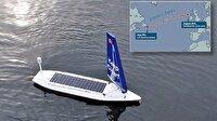İnsansız robot tekne Atlantik'i başarıyla geçti