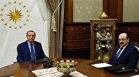 Cumhurbaşkanı Erdoğan YÖK Başkanı Saraç'ı kabul etti