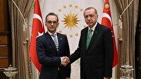 Cumhurbaşkanı Erdoğan, Almanya Dışişleri Bakanı ile görüştü