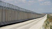 Suriye sınırına örülen duvar bitmek üzere