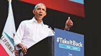 Obama yeniden sahada