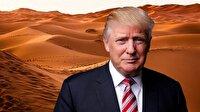 Trump: Çöle duvar örün