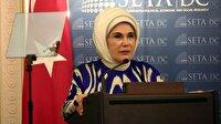 Emine Erdoğan'dan 'insani yardım' vurgusu