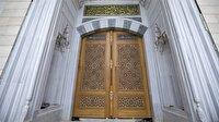 Çamlıca Camisi'ne 6 tonluk çivisiz kapı