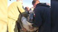 Uzay'a giden Soyuz uzay kapsülü Dünya'ya geri döndü