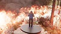Orman yangınları hologramla ekranlara taşındı