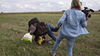 Mültecilere çelme takan Macar gazeteci beraat etti
