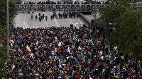 Kolombiya'da öğrenci protestoları sert geçiyor