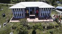 Kolombiyalılar okul inşa eden Türkiye'ye müteşekkir