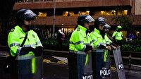 Kolombiya'da üniversite öğrencileri ile polis birbirine girdi