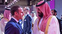 Prens Selman ve Macron'un konuşması basına sızdı