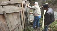 Oğullarına kızdı 39 yıldır garajda tutuyor