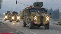 Hatay sınırına 30 askeri araç sevk edildi