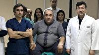 150 kiloluk hasta hibrit ameliyathanede hayata tutundu