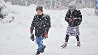 Keşan'da eğitime kar engeli: Okullar tatil edildi