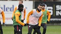 Galatasaray'ın 10 numarası Belhanda takıma geri döndü