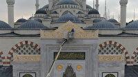 Çamlıca Camii'nde sona doğru: Yüzde 99'u tamamlandı