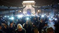 Macaristan'da 'kölelik' yasasına karşı binler sokakta